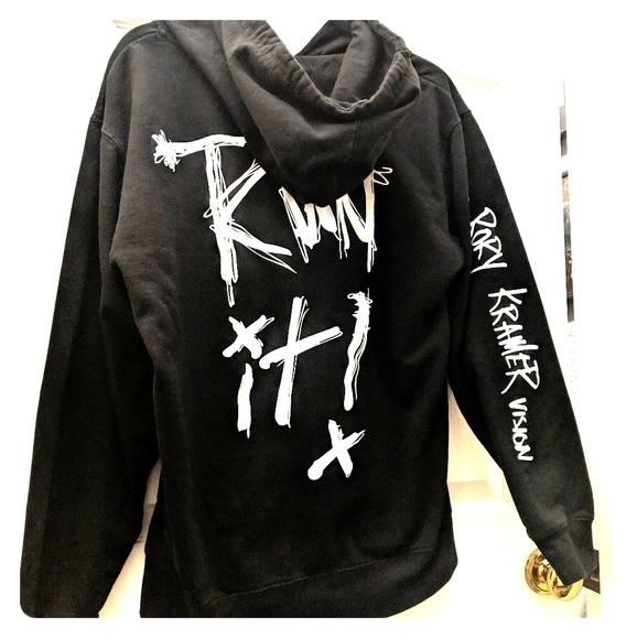 50bb5b53 Rory Kramer Sweaters | Run It Hoodie Medium Black | Poshmark